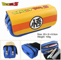 Hot Sale Anime Dragon Ball Son Goku Son Gohan Students PU Large Capacity Multifunctional Nylon Wallet