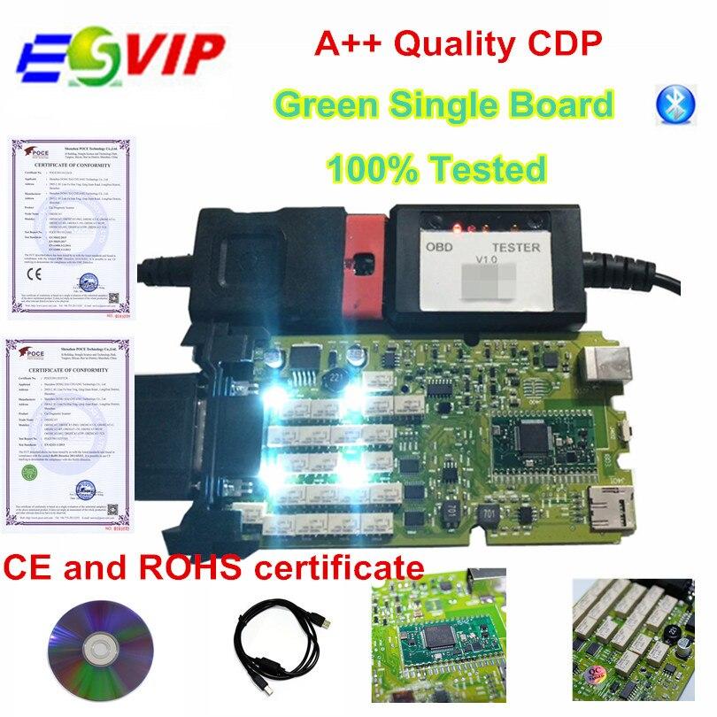 Best price Quality A+++ new (Single green board ) 2015.R3 + Keygen  bluetooth OBDIICAT-150 Full set Scanner blue light blocking glasses