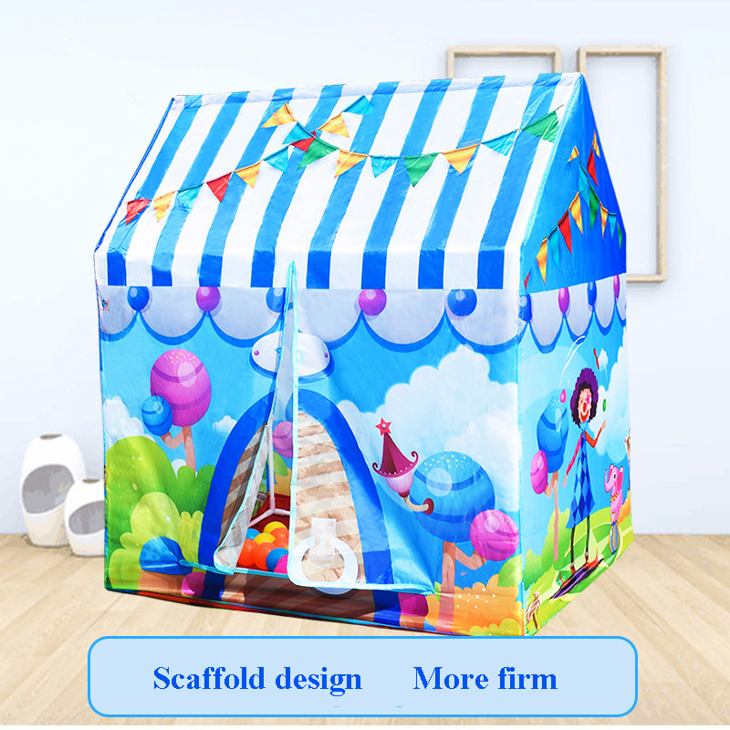 4 Colors Children Game Toy Tents Children Folding Play House Portable Outdoor Indoor Toy Tent Princess Castle Dropshipping 043