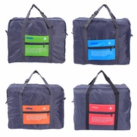 Foldable Travel Luggage Bag Big Size Foldable Bags Clothes Storage Folding Carry On Bag Waterproof Multicolor