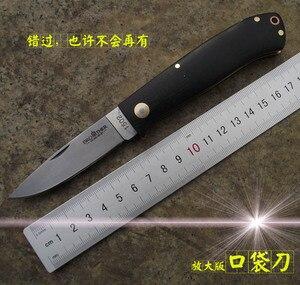 Image 2 - [אח 1502] מתקפל סכין באיכות גבוהה כיס סכינים טקטי הישרדות כלי תיקיית להב G10 ידית 440C פלדת EDC אוסף