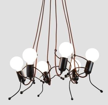 Chandelier For Children Chandeliers Room Kids Bedroom Creative Modern Living Bed Lamp Art Corridor Lighting