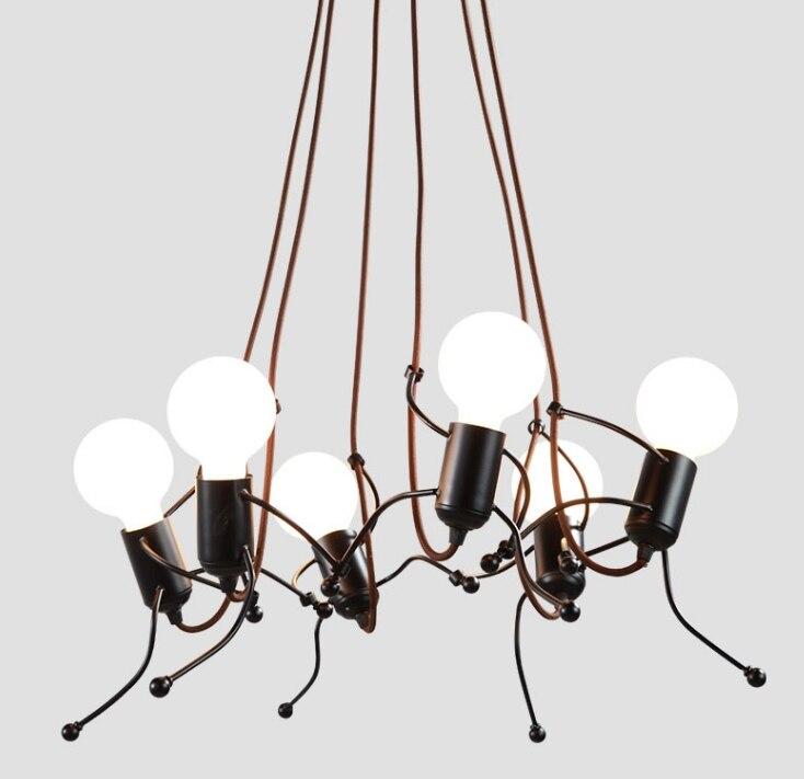 Lustre pour enfants lustres chambre enfants chambre créative moderne salon lampe Art couloir éclairage