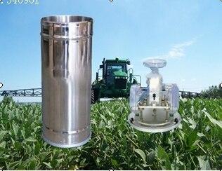 [SA] Rain sensor tipping bucket rain gauge double barrel rain barrel rain water hydrology record detection instrument meteorolog