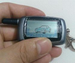 2-sposób A6 LCD pilot zdalnego sterowania brelok dla rosyjskiej wersji pojazdu bezpieczeństwo dwukierunkowy System alarmowy samochodu starline A6