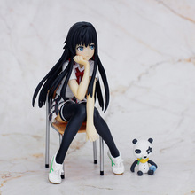 Anime My Teen Romantic Comedy SNAFU Yukinoshita Yukino PVC Action Figure Cute Girl Collection Model Toys Ornaments 14cm
