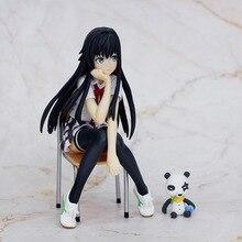 אנימה שלי Teen קומדיה הרומנטית המבולגנת Yukinoshita Yukino PVC פעולה איור חמוד ילדה אוסף דגם צעצועי קישוטי 14cm