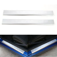 BBQ@FUKA Alloy Car Door Step Cover Entry Guards Door Sill Scuff Plate Fit For Chevrolet Camaro 2017 Accessories Car Styling