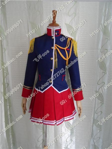 Free shipping Japan font b Anime b font Mio Kisaki from Walkure Romanze font b cosplay