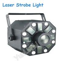 30W Laser Strobe Light Multi Effect Ballroom Bar Club Party Light 110v/220v Stage Light DMX Master Light XX071