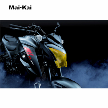 MAIKAI FOR SUZUKI GSX-S1000 GSX S1000 2017-2018 motorcycle Headlight Protector Cover Shield Screen Lens