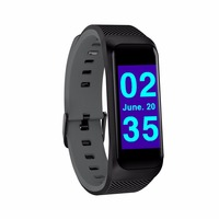 New B02 Smart Bracelet Watch Fitness Band Heart Rate Monitor Sport Activity Tracker Wristband Smartwatch for Android IOS Phone