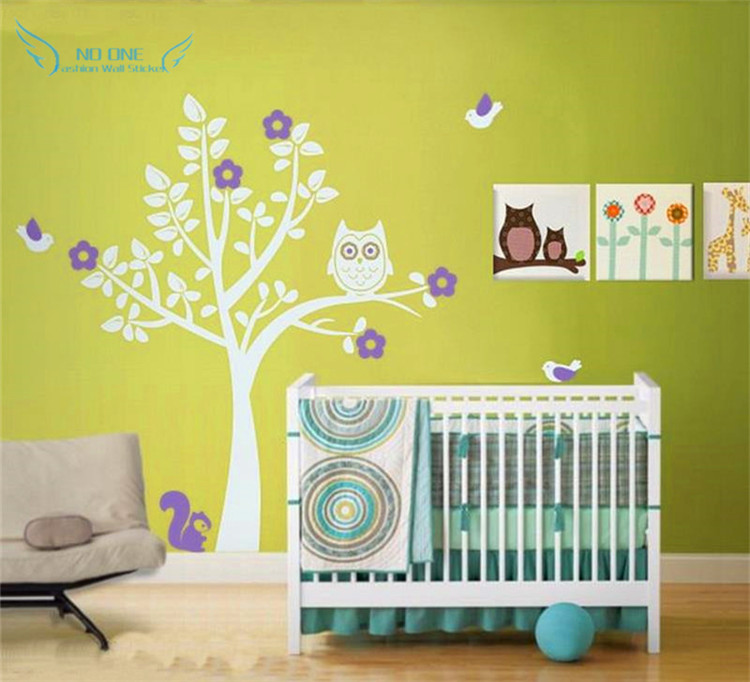 Baby Tree Decal Personalized