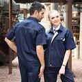 SET OF COAT+PANTS short sleeve summer spring work coat car service uniform mechanic uniform