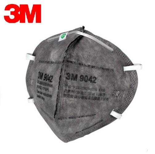 3M 9042 10pcs/Lot Safety Mask Against Formaldehyde Masks Activated Carbon KN90 Standards Face Mask Organic Gas Mask LT058