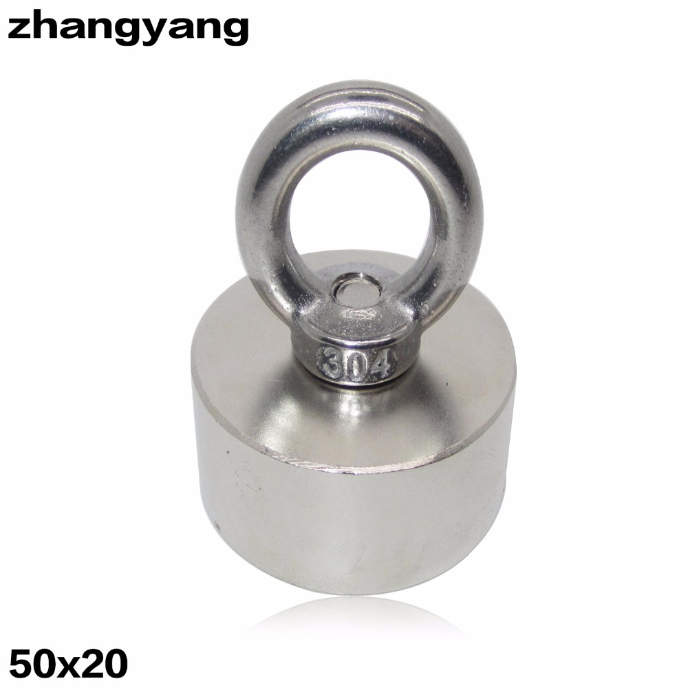 ZHANGYANG 1 pcs Super Powerful Strong Rare Earth Disc hold magnet Neodymium N52 Magnets D50x20mm 50*20mm 70 50 bigest strong magnets 70mm x 50mm disc powerful magnet craft neodymium rare earth permanent strong n50 n52 70 50 70x50