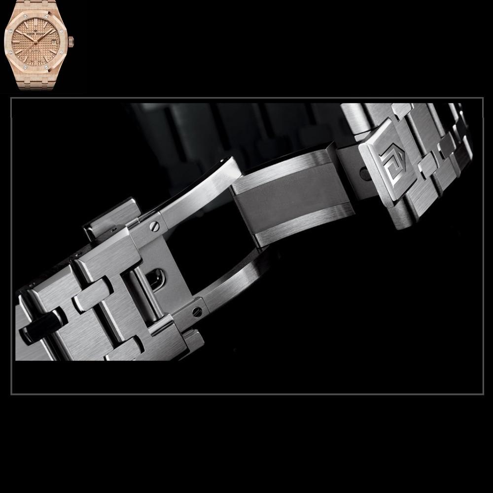 DIDUN для мужчин s часы лучший бренд класса люкс часы для мужчин сталь кварцевые Брендовые Часы для мужчин бизнес часы световой наручные часы с...