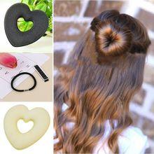 1 Pcs Fashion Portable Women's Magic Bun Maker Hair Holder Hair