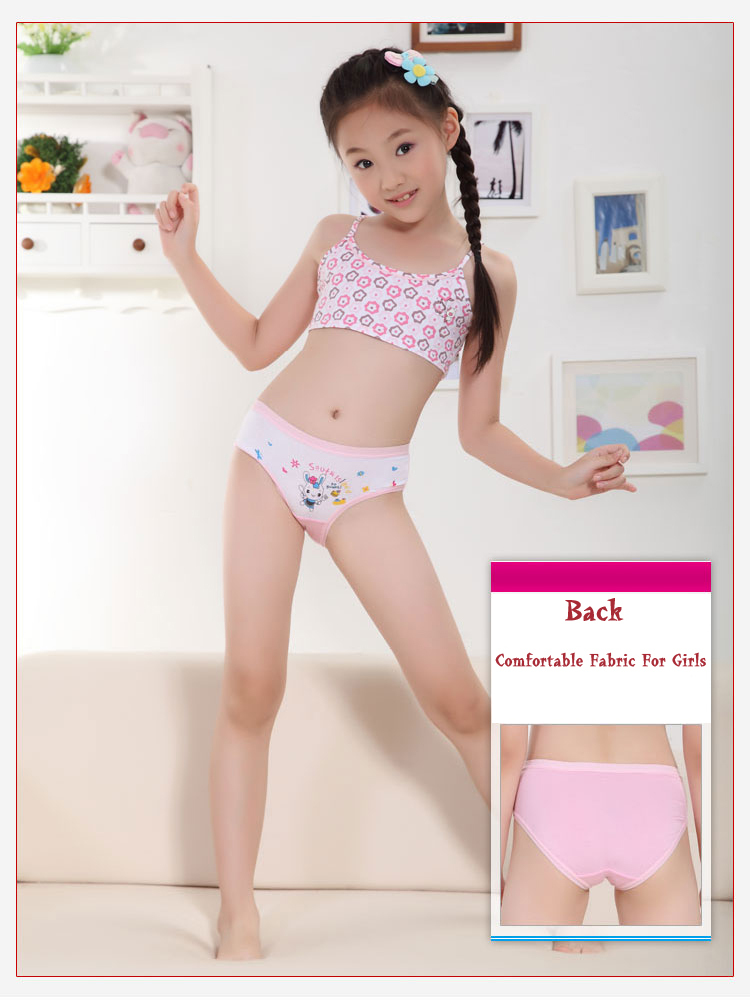 Girls can try a pair of briefs or hipster panties in colorful patterns. The cotton material is soft against the skin, but durable enough for the washing machine. Keep your little ones comfy in baby socks and underwear from Sears.
