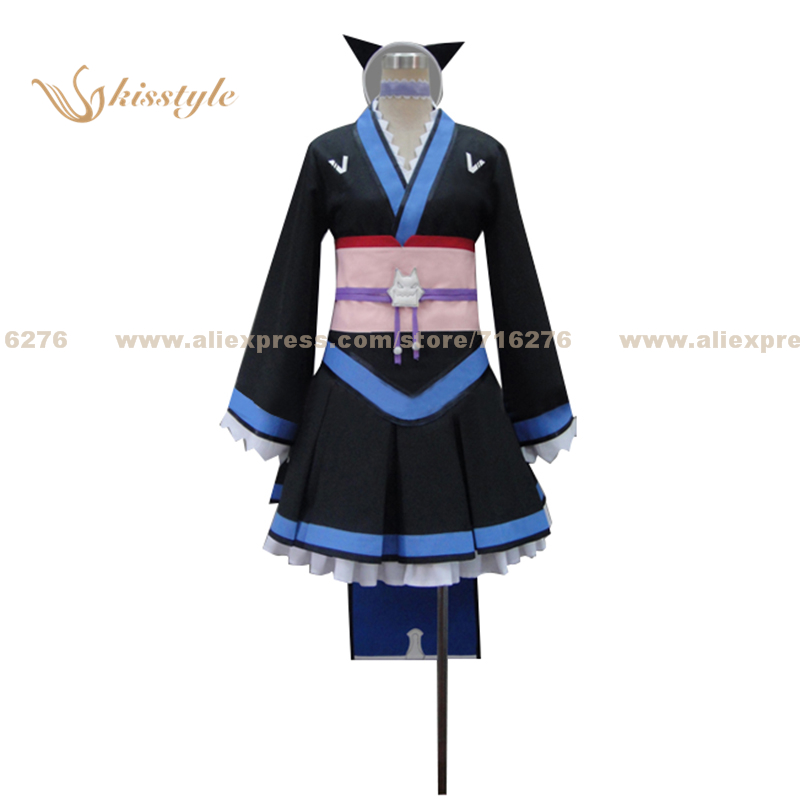Kisstyle Fashion Mondaiji Problem Children are Coming from Another World, aren't they? Shiroyasha Uniform Cloth Cosplay Costume