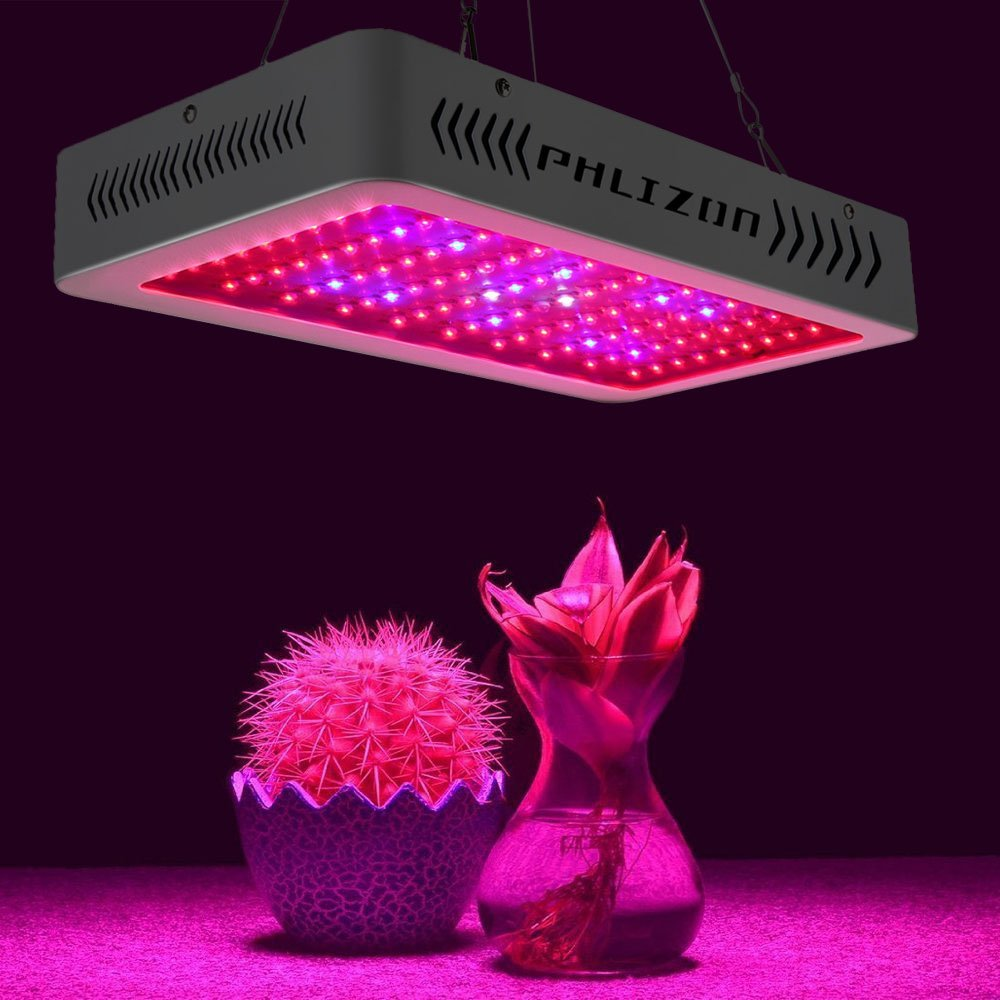 Ce RoHS FCC Certification lumière led pour plante 600 W (10 W led s 60 pièces) spectre complet Intérieur lampe horticole Pour Les Plantes Médicinales et la Fleur De Veg