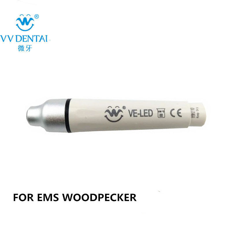 ᐅVE-LED escalador con luz instrumento dental para EMS/Woodpecker ...
