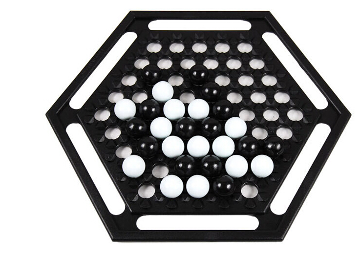 Free shipping Abalone game Strategy puzzle board games toys for kids chess for 2 players ...