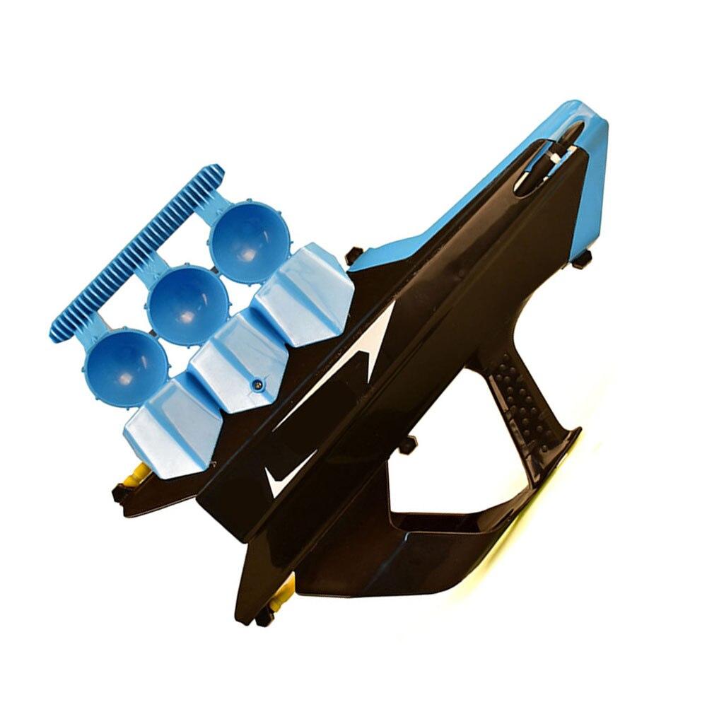 Gros combats de boules de neige en plein air pistolet à neige sûr auto-chargement enfants jouets lanceur de balle amusant intéressant garçon cadeau de noël