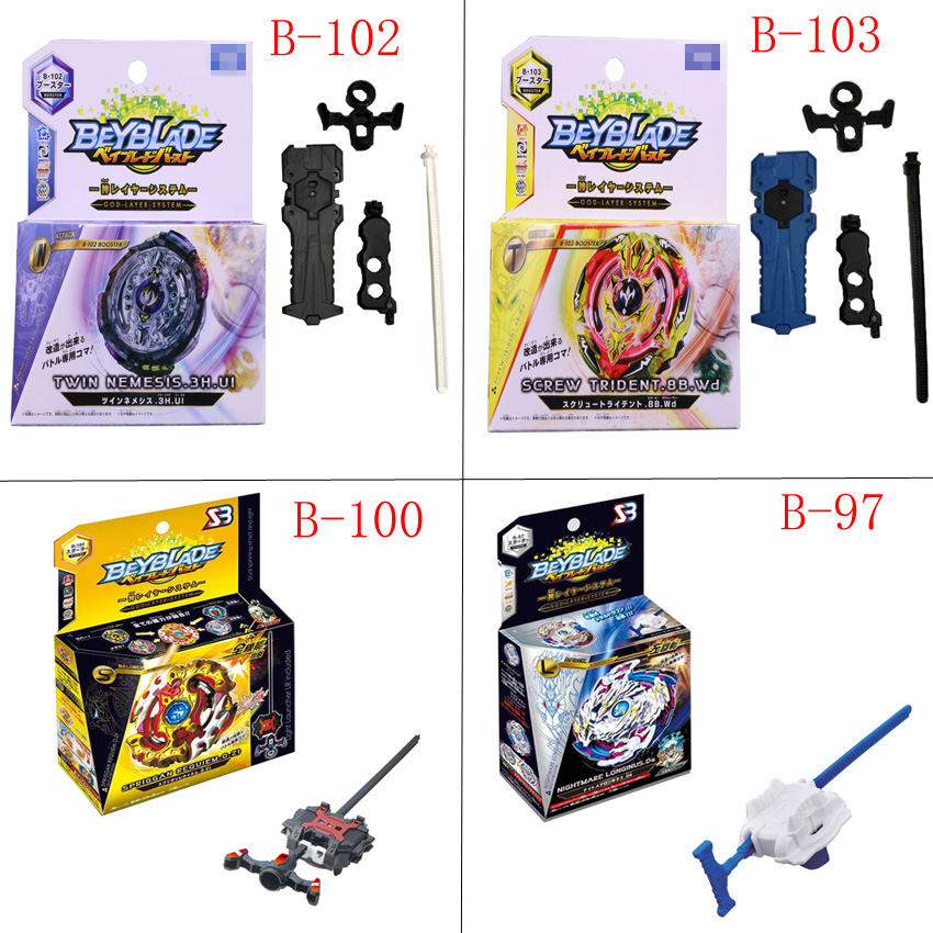 New HOT Beyblade Burst B-73 B-74 B-86 B-92 B-97 B-100 Starter Zeno Excalibur .M.I (Xeno Xcalibur .M.I) with launcher kids toys dunn james getting started in shares for dummies australia