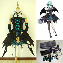 eabb47c32f customized Asada SAO cos Sword Art Online shino little devil cosplay  costume dress