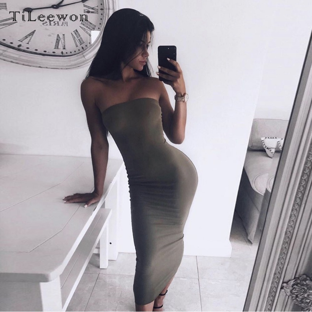 2019 New Summer Women Sexy Off Shoulder Bodycon Backless High Quality Fashiona Long Playsuits Elegant Party Club Dress Vestidos in Dresses from Women 39 s Clothing