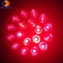 Все красные 630nm E27 par 38 Led grow light 54 W для выращивания atage в гидропоники освещение и коралловые рифы для аквариума Коралловое освещение дропшиппинг
