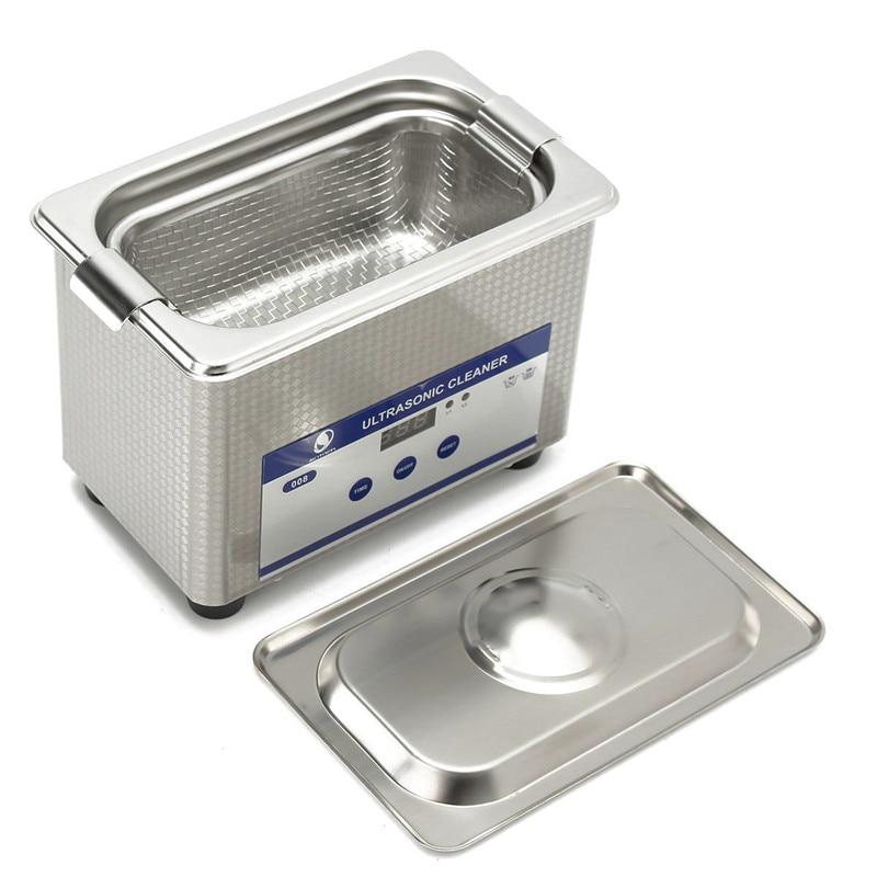 Skymen Ultrasonic Cleaner 0.8L Manicure Tools Metal Parts Cutters Ultrasound Jewelry Bath Dental Ultrasonic Wave Washing Machine