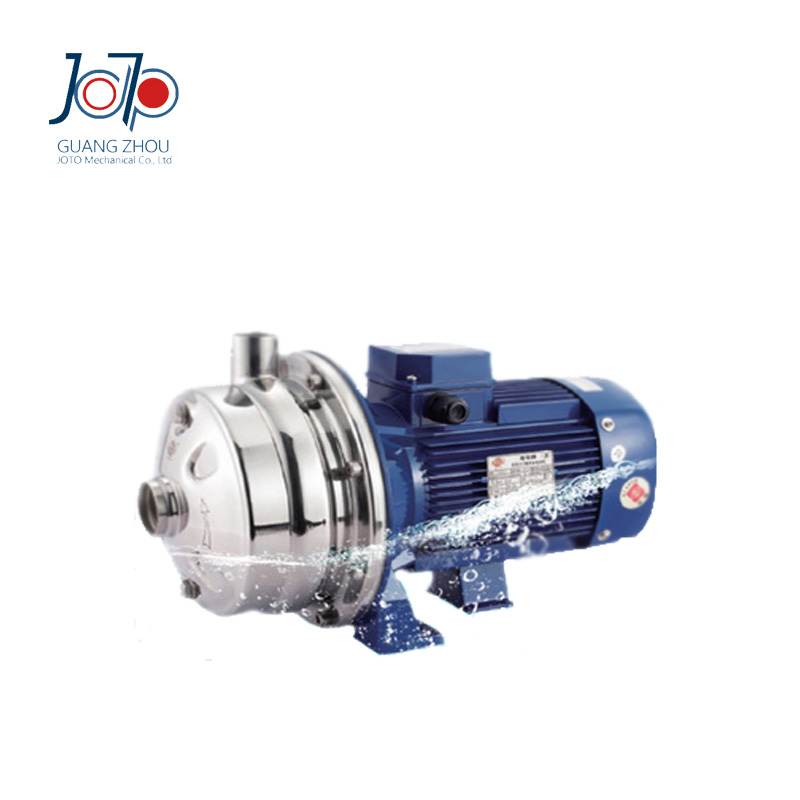 WB2-70/110 380V 50Hz Three Phase Electronic Stainless Steel Double Impeller Sanitary Centrifugal Pump Food Pump Beverage Use