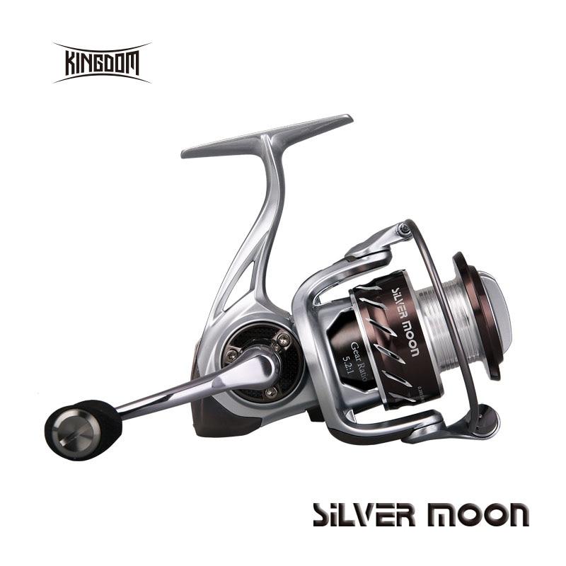 Kingdom lure fishing spinning reel metal spin reel 10+1BB model SM1000 SM3000