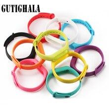 Mi gutighala Gutighala Straps Pulseira Para Xiao Mi 2 mi banda 2 alça Pulseira substituição Colorido Acessórios De Silicone