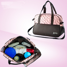 Mummy Bag Nappy Bags Bottle Storage Multifunctional Waterproof Separate Nappy Bags Maternity Handbag Baby Tote Diaper Organizer