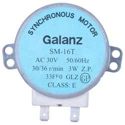 Sm-16t ac 30 в 3,5/4 Вт 30/36 об/мин синхронный двигатель для микроволновая печь galanz