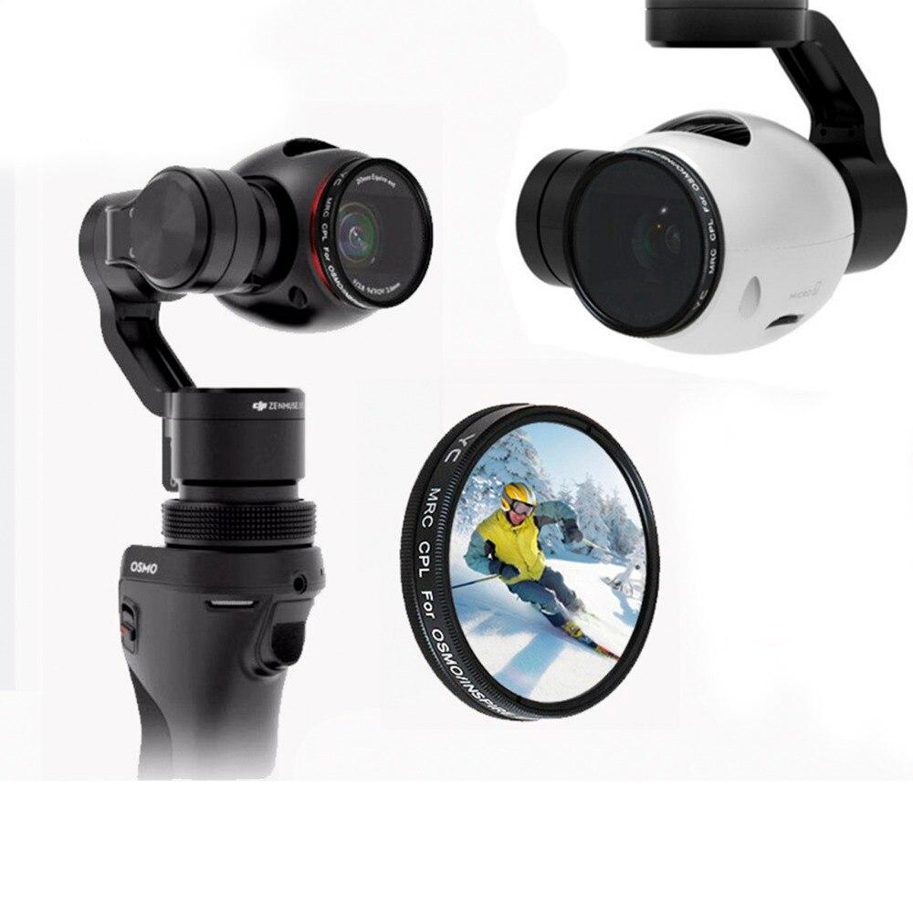 UV CPL ND2-400 ND8 ND16 Objektiv Filter für DJI OSMO X3 Handheld Gimbal Stabilisator Inspire 1 Drone Kamera Objektiv Ersatz teile Zubehör
