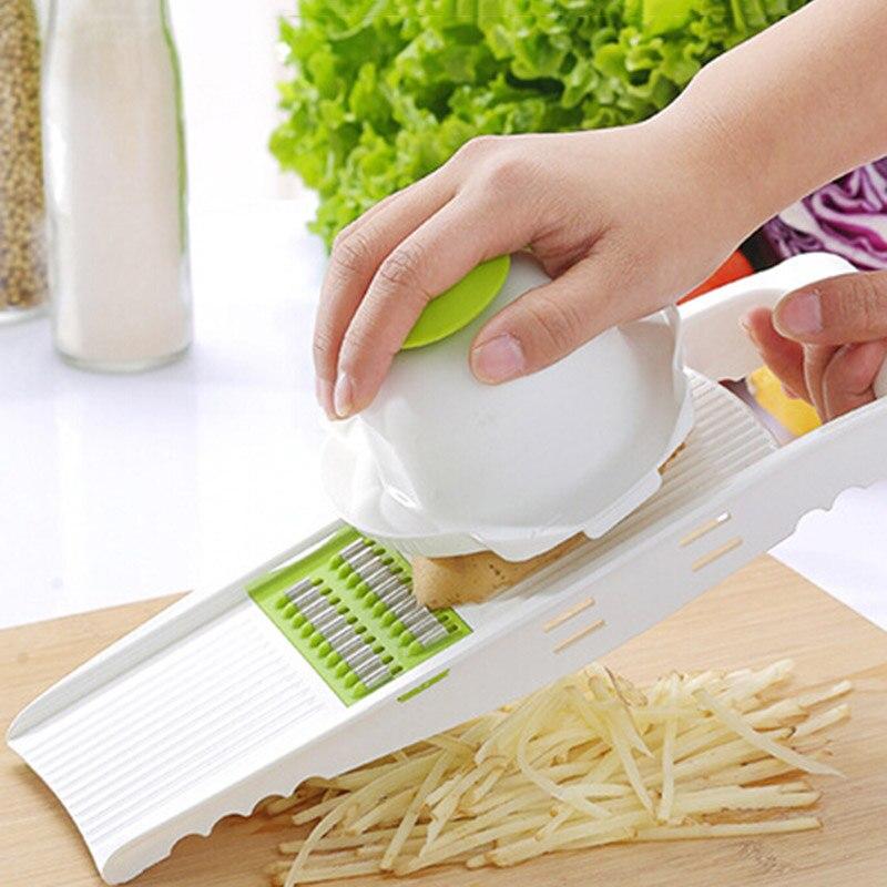 Multifunción de Acero Inoxidable Rallador Trituradora Triturar Gadgets de Cocina
