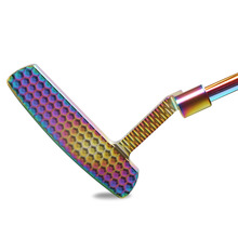 Klub Golf Putter Tangan Kanan Bahan Baja Colorful Adjustable counterweight putter distribusi headcover pengiriman gratis