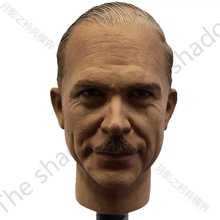 цена на 1/6 Scale Guderian Head Sculpt for WWII 12in action figure doll toy collection