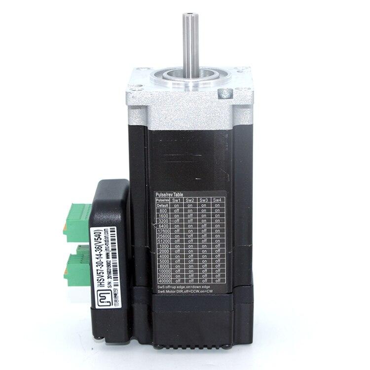 140 w 3000 rpm NEMA23 0.41Nm Integrato Servo Motore 36VDC JMC iHSV57-30-14-36140 w 3000 rpm NEMA23 0.41Nm Integrato Servo Motore 36VDC JMC iHSV57-30-14-36