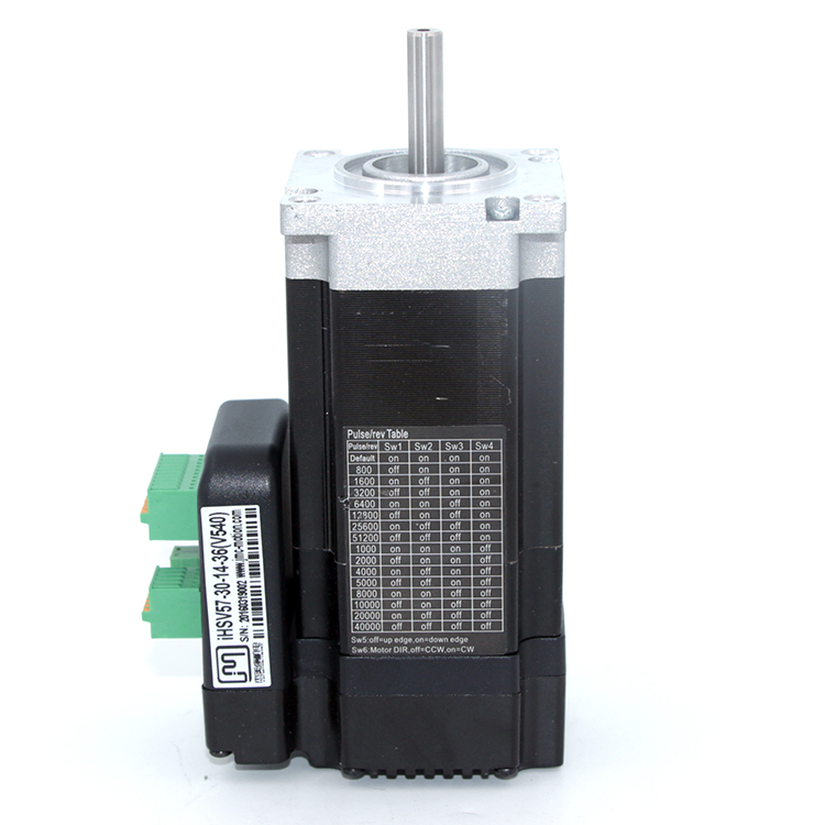 140W 3000rpm NEMA23 0.41Nm Integrated Servo Motor 36VDC JMC iHSV57-30-14-36
