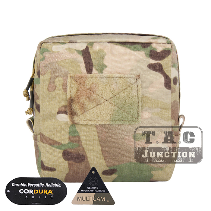 EmersonGear Tactical MOLLE 7 x 7 Utility Pouch Accessories Storage Bag Medical Admin Pouch Tool Organizer Multicam / MC emersongear edc tactical admin pouch molle multi purpose survival pouch military army combat bag em8506