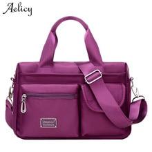 Aelicy Newest Women Messenger Bags Shopping Travel Handbags Nylon Ladies Shoulder Bags Female Tote Handbag Large Crossbody Bag