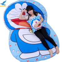Fancytrader Giant Cartoon Doraemon Sofa Bed Tatami Mattress Gift 3 Sizes FT91002