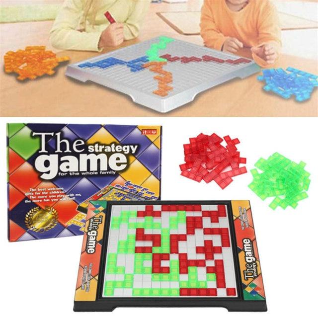 Новый стратегическая настольная игра Blokus подарок развивающие Необычные игрушечные лошадки для детей СЕМЬЯ Забавные развлечение настольная игра