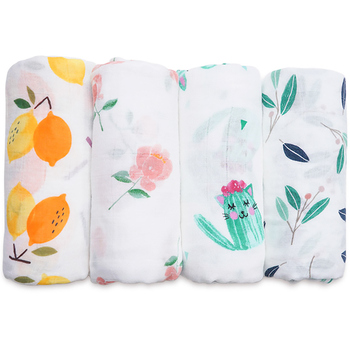 2018 Newborns Baby Blanket Super Soft Bamboo Cotton Muslin Baby Swaddle Wrap Infant Nursing Cover Bath Towel For Baby Kids