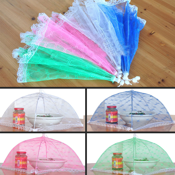 kitchen table Vogue Lace Mesh Screen Protect Food Cover Collapsible Umbrella Tents Dome Fly Food Cover-in Food Covers from Home u0026 Garden on Aliexpress.com ...  sc 1 st  AliExpress.com & kitchen table Vogue Lace Mesh Screen Protect Food Cover ...